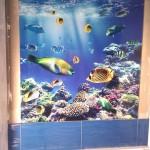 Panel szklany w łazience wodoodporny