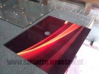Panel szklany u szklarza