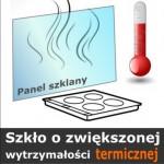 Szkło o zwiększonej wytrzymałości termicznej