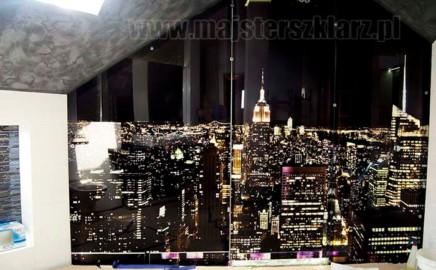 Panel szklany podświetlany