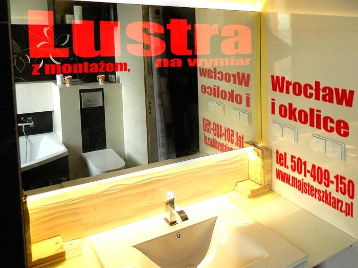 Lustra łatwe w myciu na wymiar z montażem we Wrocławiu i okolicach